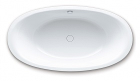 Стальная ванна Kaldewei Ellipso Duo Oval 232 с покрытием Easy-Clean
